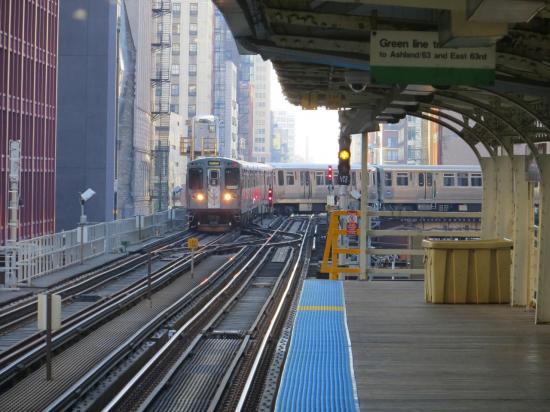 CHICAGO et son fameux métro aérien