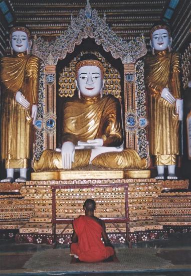 MONYWA : la pagode Thanbodday