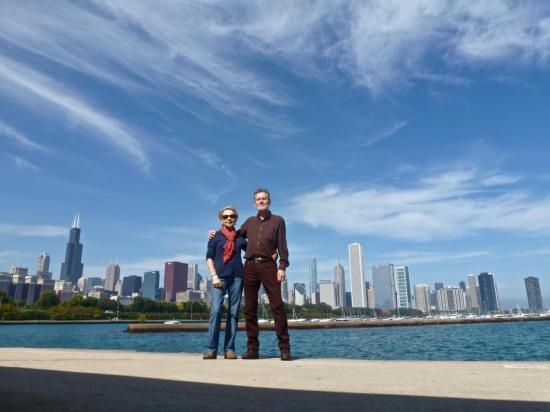 CHICAGO : le coeur de ville en front de lac