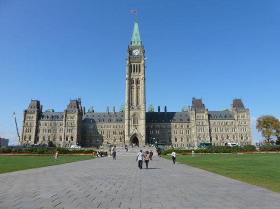 CANADA : OTTAWA : le Parlement