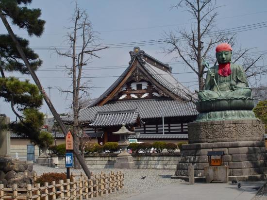 NAGANO : dans l'enceinte du temple Zenko-ji