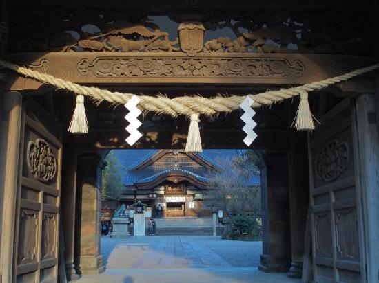 KANAZAWA : le sanctuaire OYAMA