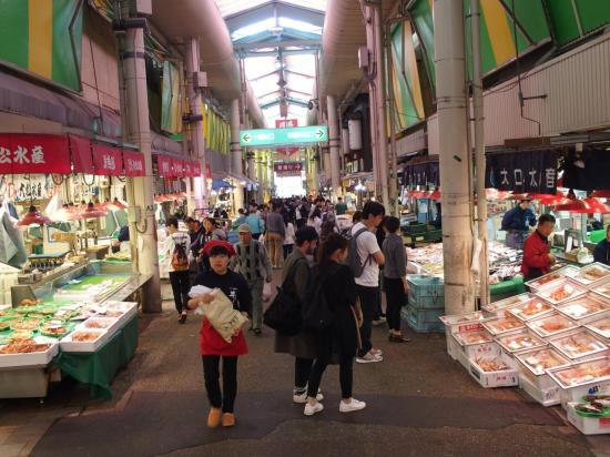 KANAZAWA : le marché OMICHO