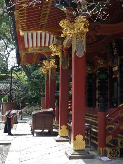TOKYO : prière au temple NEZU