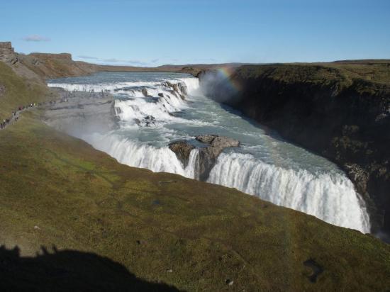 La magnifique chute de Gullfoss