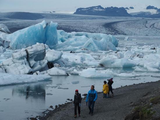Le glacier Jökulsarlon