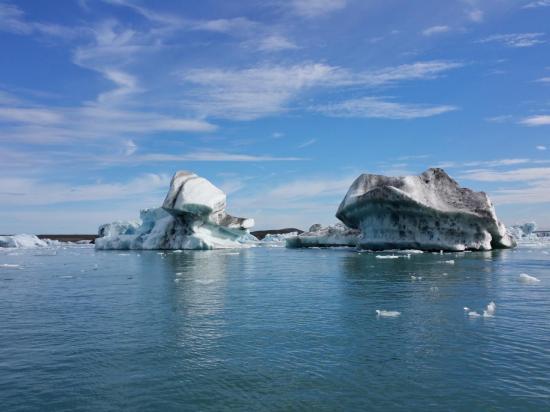 Jökulsarlon : les icebergs détachés du glacier