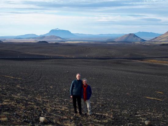 Le désert de lave de Modrudalsöraefi