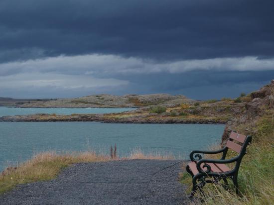 Borgarnes : le banc le plus romantique d'Islande