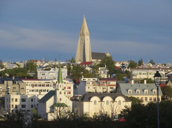 Reykjavik : l'église Hallgríms