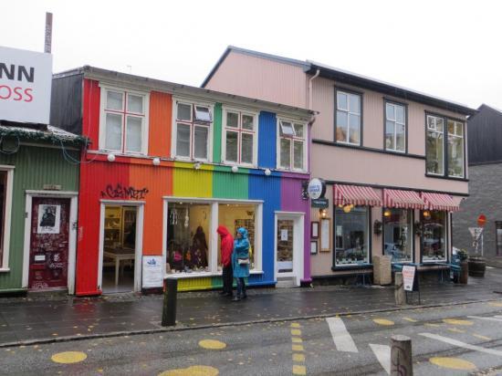 Reykjavik : la rue Laugavegur
