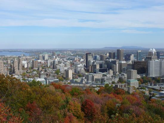 CANADA : MONTRÉAL : le centre-ville