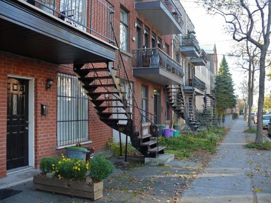 CANADA : MONTRÉAL : le quartier Petite Italie - Mile End