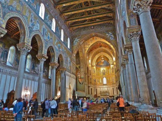 PALERME : la cathédrale de MONREALE