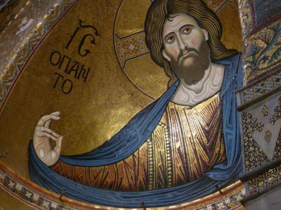 PALERME - MONREALE : le christ pantocrator