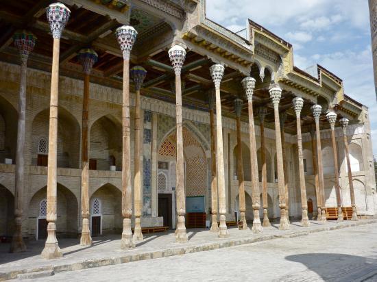 BOUKHARA : la mosquée Bolo-Khaouz