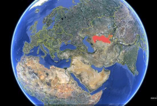 Où se situe l'Ouzbékistan ?