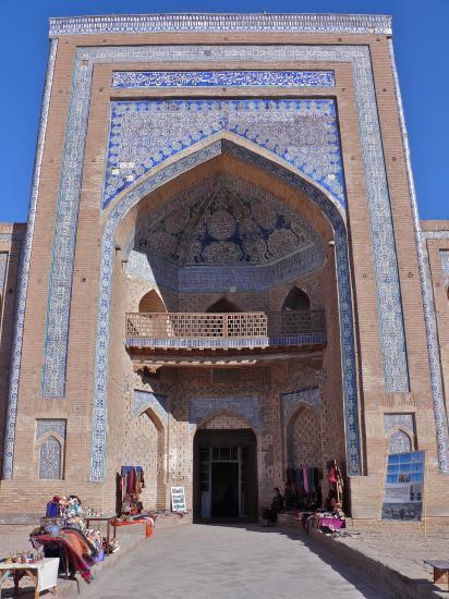 KHIVA : la madrasa Islam Khodja