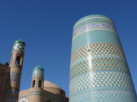KHIVA : le minaret Kalta Minor