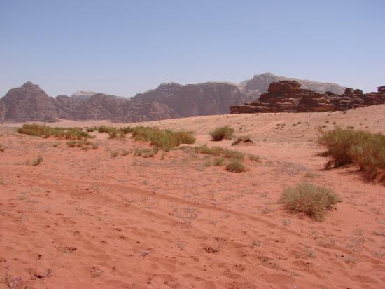 DESERT DU WADI RUM (JORDANIE)