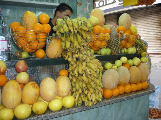 JUS DE FRUITS (SYRIE et JORDANIE)