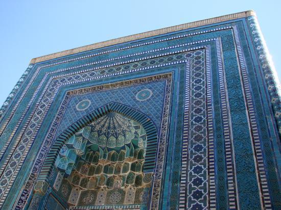 SAMARCANDE : la nécropole  de Shah-i-Zinda