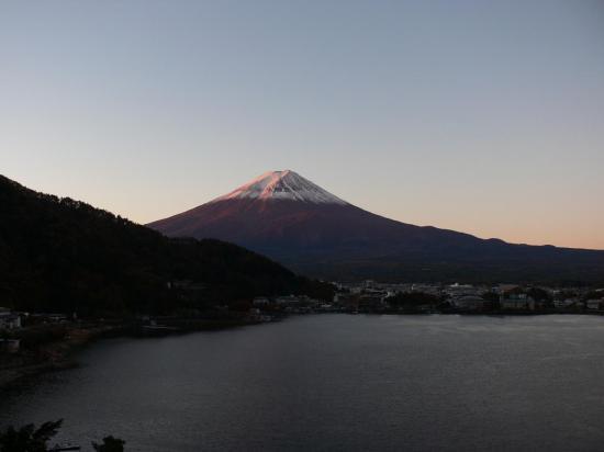 Le Mont FUJI à 06h15 (c'est tôt, mais c'est grandiose)
