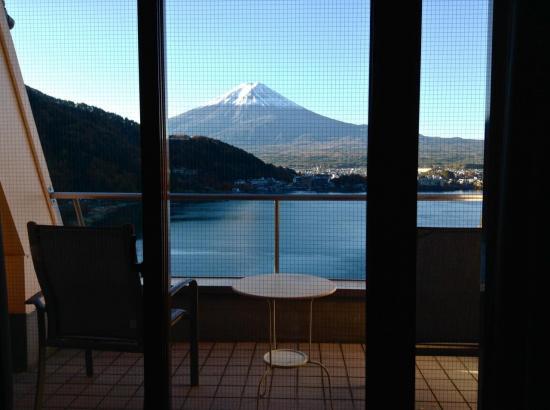 Quelle vue fantastique depuis notre chambre d'hôtel !