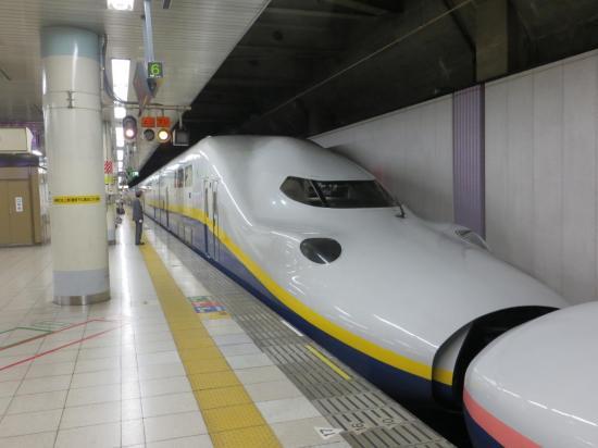 Le Shinkansen . . . c'est autre chose que nos TGV