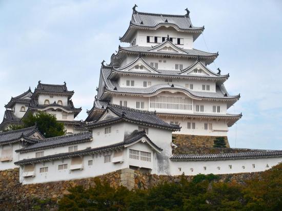 Le château d' HIMEJI :  quelle splendeur !