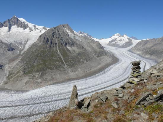 Glacier d'ALETSCH depuis Eggishorn