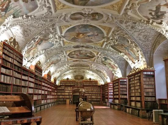 Bibliothèque du monastère de Strahov